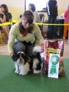 třída štěňat ALEXIS MIRIMBO  VN1 nejlepší štěně